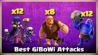 8 Giants+12 Witch+ 12 Bowler= Best GiBoWi Attacks | TH11 War Strategy #256 | COC 2018 |