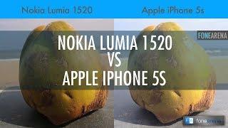 Nokia Lumia 1520 vs Apple iPhone 5s Camera Comparison