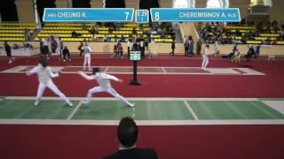 T64 Ka Long CHEUNG (HKG) - Alexey CHEREMISINOV (RUS)