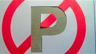 How to make a no parking sign