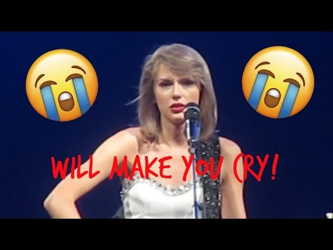 * EMOTIONAL* Taylor Swift Ronan 1989 World Tour