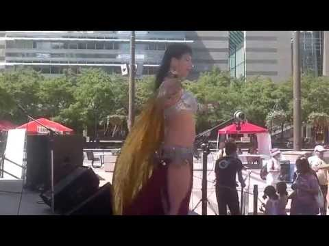Persian Day Festival with Toronto belly dancer Danisa and Loulou