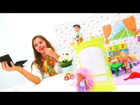 #Polen öğretmen oluyor 👩🏫! Eğlenceli #çocukvideosu. #Barbie ve eğitici oyuncaklar