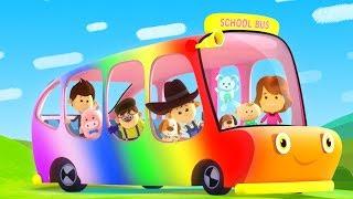 Wheels On The Bus | Little Eddie Videos | Rhymes For Kids
