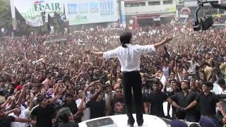 Shahrukh using Benz As Stage At Cochin Emmanuel Silks Inauguration