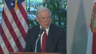 WebExtra: Atty. Gen. Jeff Session Talks