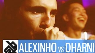 ALEXINHO vs DHARNI     Grand Beatbox 7 TO SMOKE Battle 2016     Battle 18