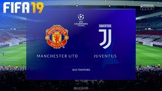 FIFA 19 - Manchester United vs. Juventus @ Old Trafford