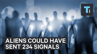 Astronomers report 234 signals that could be aliens