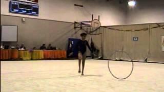 Grayson Baden 2004-2005 Level 5 Hoop Routine