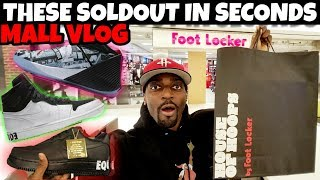 SOLDOUT IN SECONDS 🔥🔥🔥 Did You Cop Or Zzzz? MALL VLOG