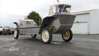 Découverte d'un bateau amphibie (Bouin)