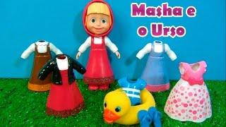 MASHA E O URSO - 6 CLOTHES - 6 ROUPAS - Masha and the Bear - МАША И МЕДВЕДЬ