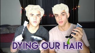 DYING OUR HAIR!!