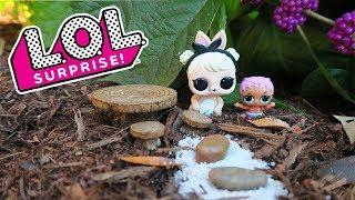 LOL Surprise! Pets Terrarium Craft for kids   DIY for Surprise toys   Shopkins, Trolls, Dolls