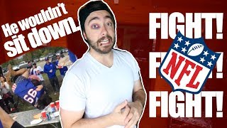 My First NFL Game Fight... |Story Time|