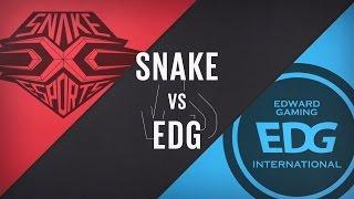【LPL春季賽】第6週 SNAKE vs EDG #3