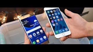 Samsung Galaxy S7 Edge vs Apple iPhone 7 Plus