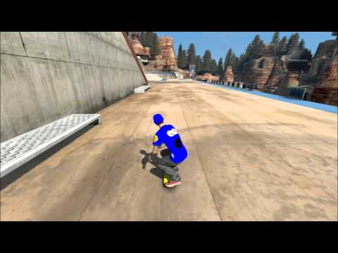 Skate 3 How to Trickline Easiest Way
