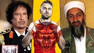 هل تعلم علاقة نجم آرسنال بالقذافي وأسامة بن لادن..!؟