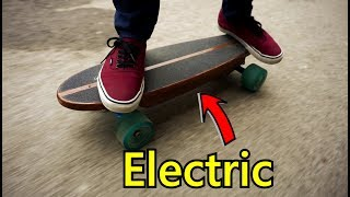 Cheap DIY electric skateboard