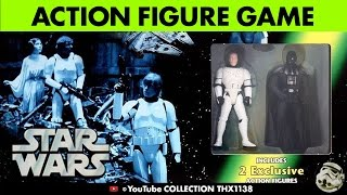 STAR WARS ESCAPE DEATH STAR Action Figure Game Parker Brothers Target 1998 | Collection THX1138