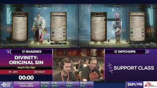 Divinity: Original Sin by Shaddex & DrTChops in 23:47 - SGDQ2017 - Part 79