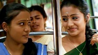 Vikram helps Trisha to reach college | Saamy Tamil Movie- Part 6