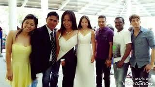 Beautiful in White..I like this song.(filipino/Bangladeshi couple)