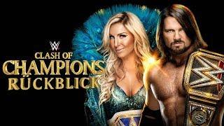 WWE Clash of Champions 2017 RÜCKBLICK/ REVIEW