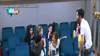 خلاف ابتسام ومحمد شاهين في حصة المسرح 18  10  2014