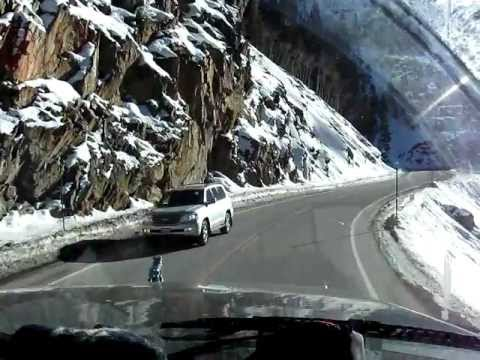 watch The most dangerous and the most beautiful road in the usa