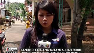 Laporan Kondisi Terkini Banjir Cipinang Melayu yang Mulai Surut - iNews Siang 22/02