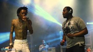 Wiz Khalifa performs