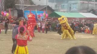 Hoi pháo hoa Quảng uyen 2017