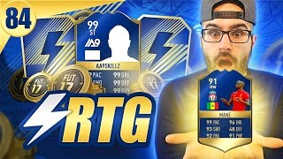 OMG TOTS 91 MANE ON OUR RTG! Road To Fut Champions FIFA 17 #84