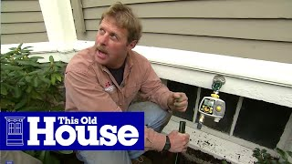 How to Install In-Ground Sprinklers - This Old House