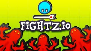 The ULTIMATE Wizard DESTROYS the DRAGONS! - Fightz.io Gameplay