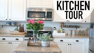 HOUSE TOUR | KITCHEN TOUR | RUSTIC CHIC DECOR IDEAS
