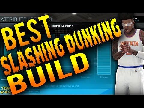 NBA 2K16 Tips: Best DUNKING / SLASHING Build - How To Create a 99 Air Jordan Inside SG in 2K16!