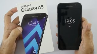 Samsung Galaxy A5 2017 Unboxing & Overview (Indian Dual sim Unit)