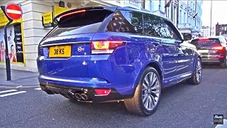 Range Rover SVR Amazing V8 SOUNDS!