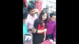 Malayalam actress sanusha in dubai