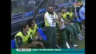 The winning moment of 1st T20 WC final !!!