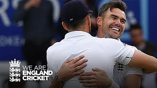 James Anderson 5-29 and 10 in match - England v Sri Lanka highlights
