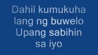 Mahal Kita Pero Di Mo Lang Alam lyrics