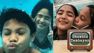 Awra at Andrea bagong besties na!!! Bonding buong araw and swimming!