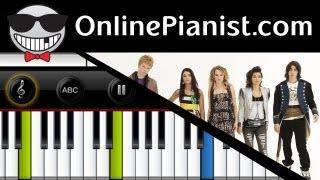 Bridgit Mendler - Determinate (Lemonade Mouth) - Piano Tutorial