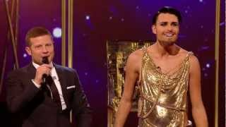Rylan Clark sings Spandau Ballet's Gold - Live Week 1 - The X Factor UK 2012