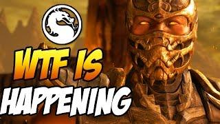MKX IS BROKEN! WTF IS HAPPENING? - Mortal Kombat X Random Character Select Gameplay
